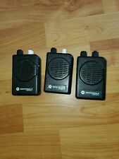 (3) Motorola Minitor V 5 Uhf Band Pager Parts As-Is