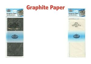 Graphite Paper Transfer Paper Tracing Patterns Grey/White Royal Brush RD201/203
