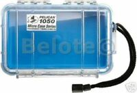 Pelican Micro Case Blue Clear 1050 New 7.5 x 5 x  3.1