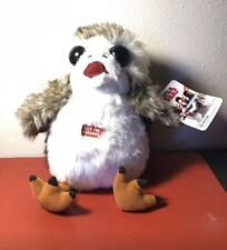 "PORG Star Wars TALKING LIFE SIZE 11"" inch Stuffed Animal AUTHENTIC The Last Jedi"