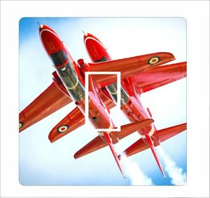 Red Arrows1 - Light Switch Sticker vinyl cover skin decal - 24