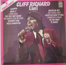 CLIFF RICHARD - LIVE ! - 18 GREAT SONGS - LP