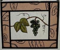 Weinranke, Glasmalerei, Bleiverglasung, Kirchenfenster, Kunsthandwerk. Winzer
