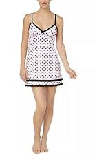 Jennifer Moore Intimates Nwt Black Swan Print Chemise Nightgown Pajamas Sz Xs Buy Now Sleepwear & Robes
