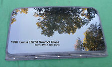 1990 LEXUS ES250  SUNROOF GLASS PANEL NO ACCIDENT OEM FREE SHIPPING!