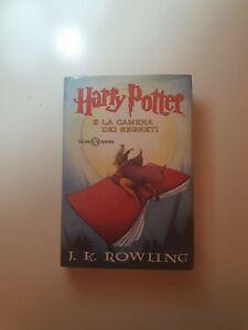 Harry Potter E La Camera Dei Segreti Salani prima edizione