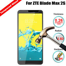 9H+ Premium Tempered Glass Film Screen Protector Cover For ZTE Blade Max 2S