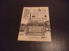 ZENITH Trans Oceanic Royal 7000 Vintage anuncio Num 4