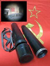 Vintage Spyglass 20x50 ZTM4 Optical Glass Monocular Telescope USSR Soviet Russia