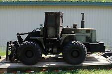 International Hough M10 10K pound capacity rough terrain Forklift