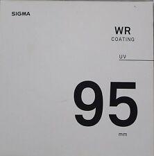 Sigma 95mm WR UV Lens Filter  UK Stock Fits 150-600 Contemporary & Nikon 200-500