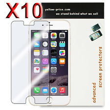 10x Apple iPhone 6 Plus 5.5' Screen Protector Anti-Scratch Hd Clear Cover Guard
