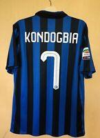 FC INTER MILAN 201516 HOME FOOTBALL JERSEY CAMISETA SOCCER MAGLIA #7 KONDOGBIA