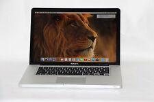 MacBook Pro 15'' Late 2011 Intel Core i7  2.2GHz quad-core 8GB 750GB HDD