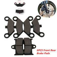 Universal Brake Pads Fit for CF Moto CF500 500CC 600CC X5 X6 X8 U5 ATV UTV Black
