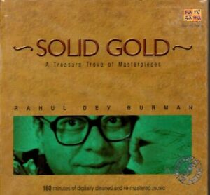 R.D.BURMAN - SOLID GOLD 180 MINUTES OF DIGITALLY CLEANED & REMASTERED - 2 CD SET