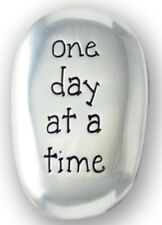 ONE DAY AT A TIME - METAL THUMB STONE COMFORT WORRY DEPRESSION OTHER ONES LISTED
