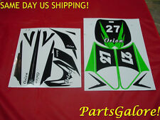 Apollo Orion Green Decal Sticker Graphics 50cc-125cc Dirt Pit Bike Motorcycle