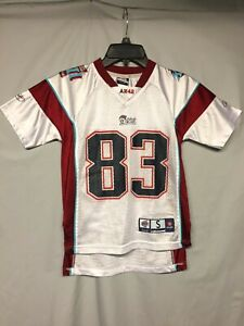 NFL New England Patriots Wes Welker Reebok SB XLII Youth Jersey size Small 8