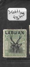 LABUAN (PP0204B)  2C DEER  SG 111  MOG