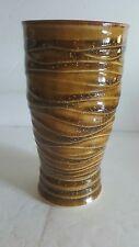 """Vintage Vase ~ PARKER Art Studio Pottery Vase ~ 6.25"""" T ~ Great Design & Color"""