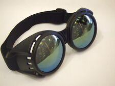 Industrial Goggles ~ Steampunk ~ Glasses ~ Black ~ Scientist ~ Inventor
