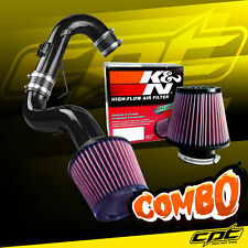 11-16 Scion tC 2.5L 4cyl Black Cold Air Intake + K&N Air Filter