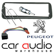 FP-04-03 Peugeot 206 1998-01 Car Stereo Radio Fascia Facia Panel ISO Aerial Kit