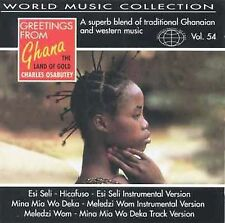 New: Charles Osabutey: Greetings from Ghana - The Land of Gold - World Music Col