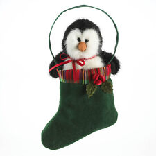 """1230 - Boyds Christmas 2011 Plush Penguin """"Willy"""" - NEW"""