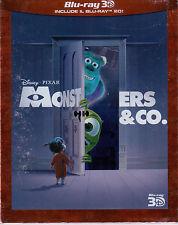 Monsters & Co. 3D + Blu Ray 2D Dvd Sigillato Disney Pixar