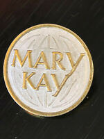 Vintage Collectible Mary Kay Metal Colorful Pin Back Lapel Pin Hat Pin