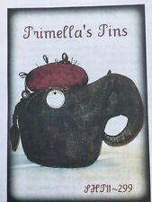 Pattern Primitive Wool Felt Elephant Makedo Pincushion Uncut Sassafras Hill