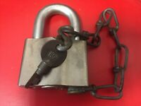 Union Pacific Railroad, Sargent & Greenleaf Padlock with 102 Key