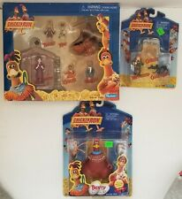 2000 Playmates Chicken Run Playset Bunty With Digging Spoon And More