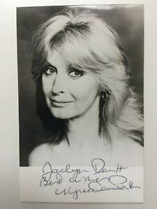 Nyree Dawn Porter - The Forsyte Saga - Original Hand Signed Autograph
