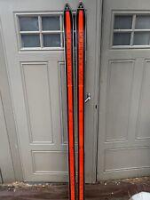 Vintage Fischer Superglass Competition Skis 195cm