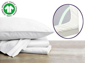 100% Organic Bed Sheets That Stay On, Deep Pockets Sheets With Straps