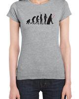 094 Darth Vader Evolution women's T-Shirt funny empire jedi star geek wars new