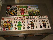 Lot of 7 Lego Sticker Books**All have been used but still have stickers**