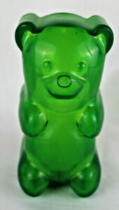 """Squeezable Cordless 7"""" Gummi Bear Night Light - Battery Operated Portable"""