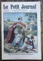 Le Petit Journal N°1007 du 6/03/1910 Honneur aux Héros de l'expansion coloniale