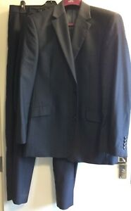 Daniel Hechter Dark Blue 2 Piece Suit Size UK 42/36