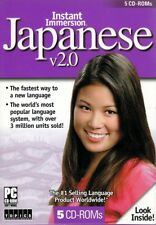 Instant Immersion JAPANESE Learn how to Speak Understand Language Learning 5 CDs