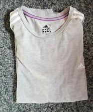 Damen Sport T-Shirt Größe: XL Marke: Adidas, grau - Clima Lite - siehe Scan