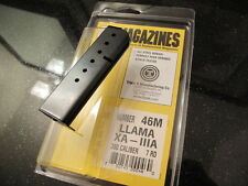 1 Single Fits LLAMA Micromax Minimax MAGAZINE .380 Mag 380 Blued 3A XA