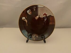 Norman Rockwell plate The Doctor and The Doll
