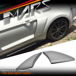 GT Rear Side Fender / Guard Plastic Vents for Ford Mustang FM FN 2015+ Bodykits