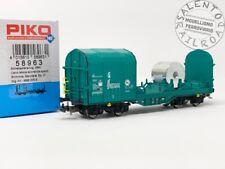 """PIKO 58963 carro merci telonato Shimmns FS """"Mercitalia Rail"""" APERTO ep. VI - 1/8"""