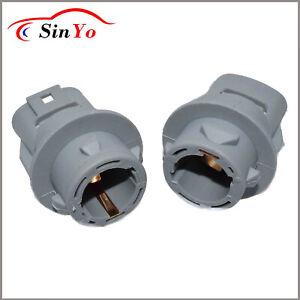 2x Turn Signal Blinker Bulb Socket For Honda Accord Civic CRV Odyssey 33302SR3A0